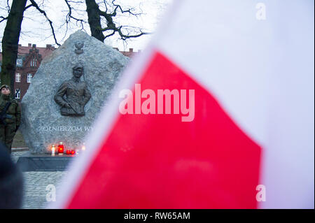 National Day of Remembrance of the Cursed Soldiers in Gdansk, Poland. March 1st 2019 © Wojciech Strozyk / Alamy Stock Photo - Stock Photo