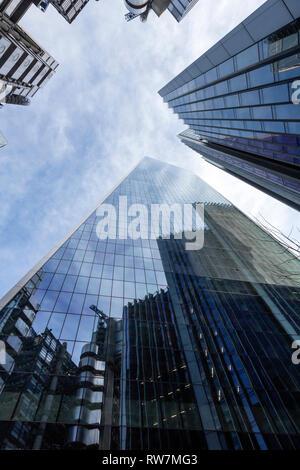 The Scalpel, The City of London, London, UK - Stock Photo