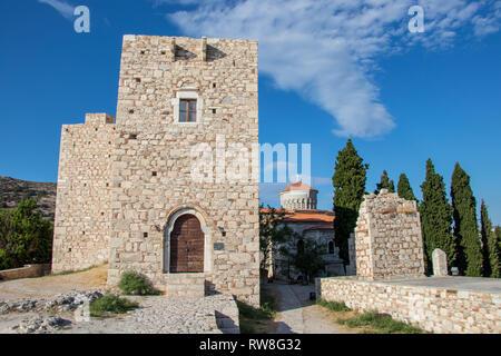 Castle of Lykourgos Logothetis - Stock Photo