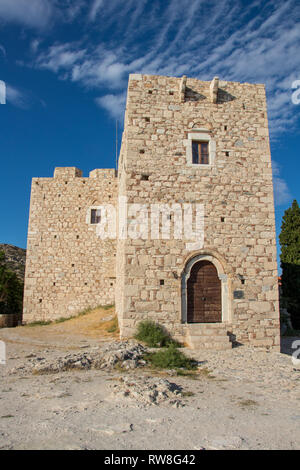 old castle of Lykourgos Logothetis - Stock Photo
