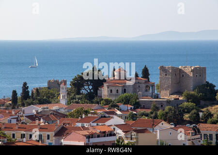 castle in Pythagorion city - Stock Photo