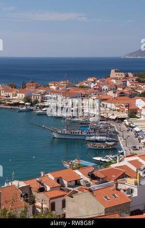 bay of Pythagorion - Stock Photo