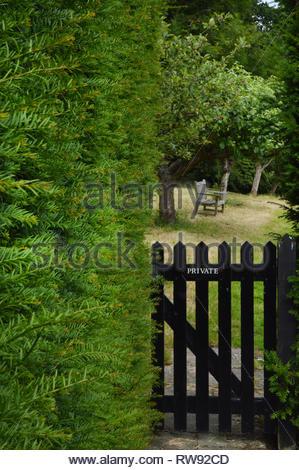 The secret garden - Stock Photo
