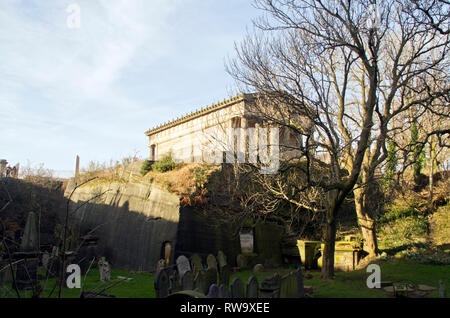 The Oratory and St James's cemetery Liverpool - Stock Photo