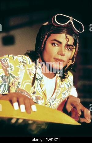 MICHAEL JACKSON, MOONWALKER, 1988 - Stock Photo