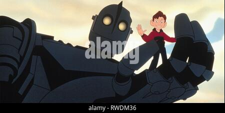 HOGARTH,GIANT, THE IRON GIANT, 1999 - Stock Photo