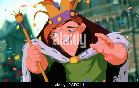 QUASIMODO, THE HUNCHBACK OF NOTRE DAME, 1996 - Stock Photo