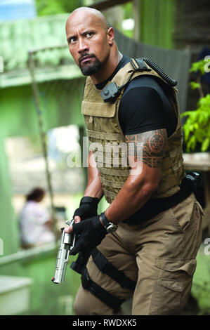 DWAYNE JOHNSON, FAST FIVE, 2011 - Stock Photo