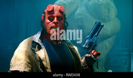 RON PERLMAN, HELLBOY II: THE GOLDEN ARMY, 2008 - Stock Photo