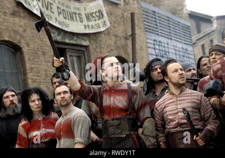 DICAPRIO,GRAHAM, GANGS OF NEW YORK, 2002 - Stock Photo