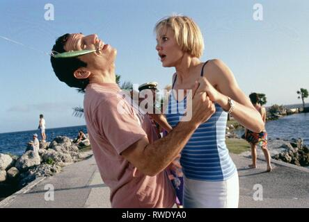 BEN STILLER,CAMERON DIAZ, THERE'S SOMETHING ABOUT MARY, 1998 - Stock Photo