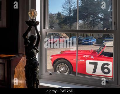 1960 Austin Healey MK1 3000 Works Rally car (Pat Moss Ann Wisdom) - Stock Photo