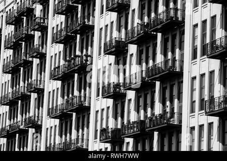 Chicago Building Architecture - Stock Photo