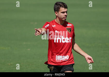 SP - Sao Paulo - 06/03/2019 - Training of Sao Paulo - Araruna during training of Sao Paulo at CT Barra Funda. Photo: Marcello Zambrana / AGIF - Stock Photo