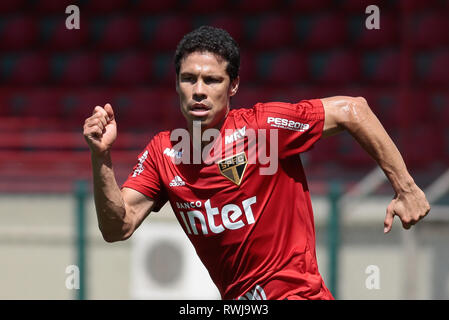 SP - Sao Paulo - 06/03/2019 - Training of Sao Paulo - Hernanes during training of Sao Paulo at CT Barra Funda. Photo: Marcello Zambrana / AGIF - Stock Photo
