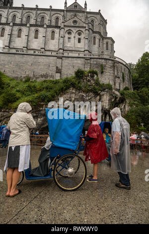 St. Mary's Ukrainian Catholic Church, Lourdes, France - Stock Photo