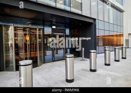 JP Morgan dublin offices 200 capital dock Dublin republic of Ireland - Stock Photo