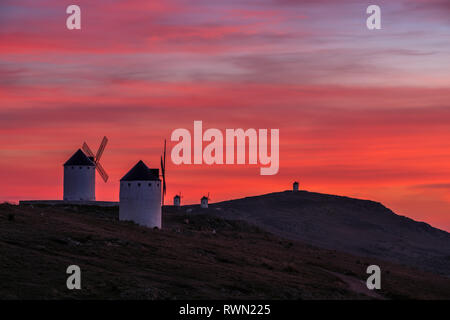 En un lugar de La Mancha (In place in La Mancha) - Stock Photo