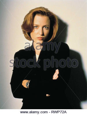 GILLIAN ANDERSON, THE X FILES, 1993 - Stock Photo