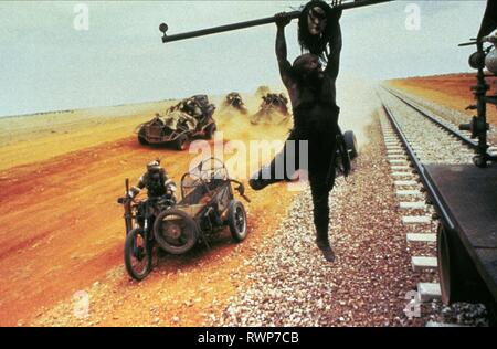 GENERAL SCENE, MAD MAX BEYOND THUNDERDOME, 1985 - Stock Photo