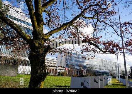 International Telecommunication Union (ITU), Geneva, Swiss - Stock Photo