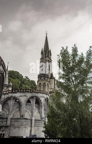 St. Mary's Ukrainian Catholic Church, Lourdes - Stock Photo