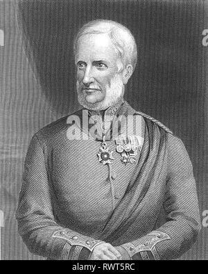 HENRY HAVELOCK (1795-1857) British Army General Stock Photo