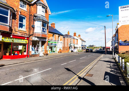 Sutton on Sea Lincolnshire UK England, Sutton on sea village centre, Sutton-on-Sea village centre, Lincolnshire villages, village, Sutton on sea, UK - Stock Photo