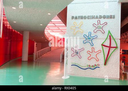 Villahermosa Tabasco State/Mexico 18/12/2008. Interactive Museum Papagayo,museum facilities. - Stock Photo