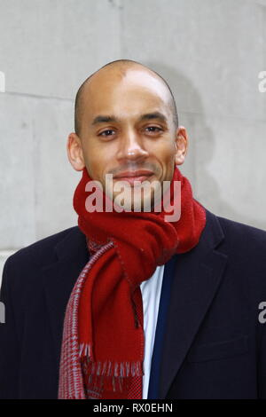 Chuka Umunna spokesperson and founding member of the Independent Group pictured in Westminster on 7th March 2019. Chuka Umunna resigned from the Labour party and remains MP for Streatham. Change UK. Russell Moore/Alamy. - Stock Photo