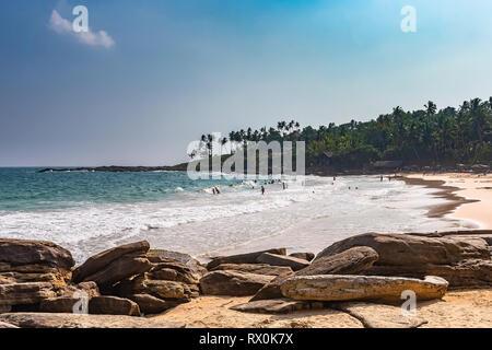 Goyambokka beach. Tangalle, Sri Lanka. - Stock Photo