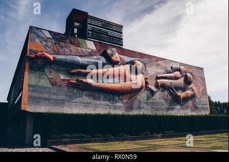 UNAM Mural - Stock Photo