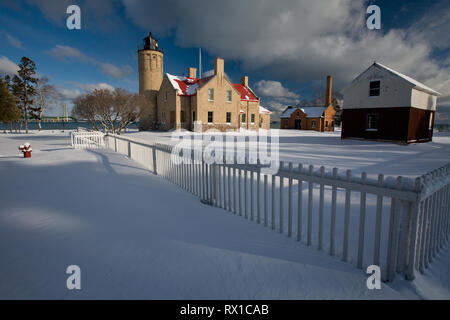 Mackinaw City, Cheboygan County, Michigan, USA - Stock Photo