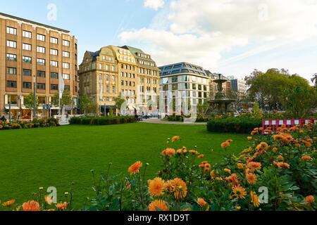 DUSSELDORF, GERMANY - CIRCA SEPTEMBER, 2018: Dusseldorf urban landscape. - Stock Photo