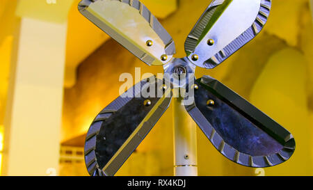 A four small propellers not working. It is on a standby mode for now - Stock Photo
