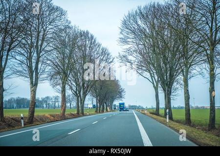 Ostwestfalenstraße in NRW - Stock Photo