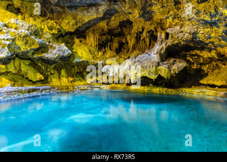 Cave and Basin National Historic Site, Banff National Park, Alberta, Canada. - Stock Photo
