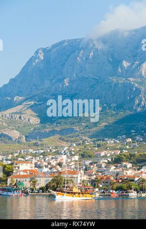 Makarska, Dalmatia, Croatia, Europe - Life is beautiful at the Riviera of Makarska - Stock Photo