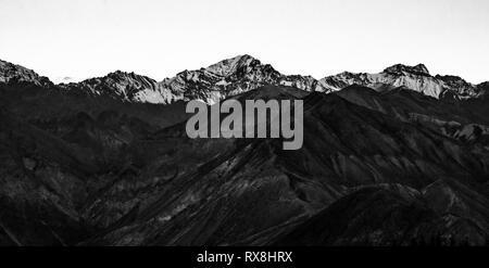 Nako village on the way to Spiti Valley, Himachal Pradesh. - Stock Photo