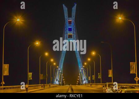 Ikoyi Lekki Link Bridge Lagos, Nigeria - Stock Photo