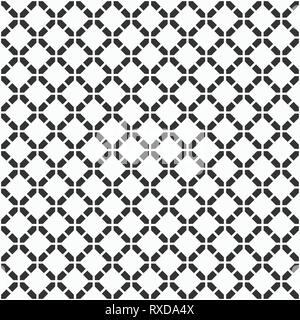 Abstract seamless pattern. Modern stylish texture. Regularly repeating rhombuses made of geometric shapes. Flat design. Vector background. - Stock Photo