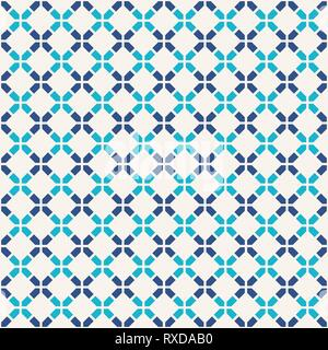 Abstract seamless pattern. Modern stylish texture. Regularly repeating rhombuses made of geometric shapes. Linear style. Vector color background. - Stock Photo