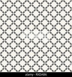 Abstract seamless pattern. Modern stylish texture. Regularly repeating rhombuses made of geometric shapes. Vector background. - Stock Photo
