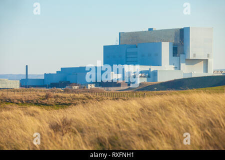 Torness Nuclear Power Station, Dunbar, East Lothian, Scotland, UK - Stock Photo