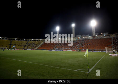 São Paulo, Brazil. 9th March 2019. - Stadium before the match between São Paulo FC x Ferroviária, valid for the 10th round of the Paulista Championship 2019 and held at the Estádio do Pacaembu in São Paulo, SP. (Photo: Ricardo Moreira/Fotoarena) Credit: Foto Arena LTDA/Alamy Live News - Stock Photo