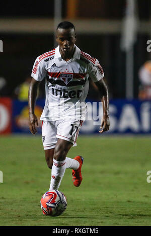 São Paulo, Brazil. 9th March 2019. - Helinho during match between São Paulo FC x Ferroviária, valid for the 10th round of the Paulista Championship 2019 and held at Pacaembu Stadium in São Paulo, SP. (Photo: Ricardo Moreira/Fotoarena) Credit: Foto Arena LTDA/Alamy Live News - Stock Photo