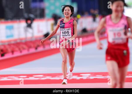 Nagoya, Aichi, Japan. 10th Mar, 2019. Mizuki Tanimoto (JPN) Marathon : Nagoya Women's Marathon 2019 in Nagoya, Aichi, Japan . Credit: YUTAKA/AFLO SPORT/Alamy Live News - Stock Photo