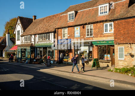 High Street, Otford, Kent - Stock Photo