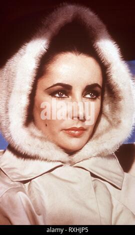 LIZ TAYLOR (1932-2011) ACTRIZ INGLESA. ELIZABETH TAYLOR. - Stock Photo