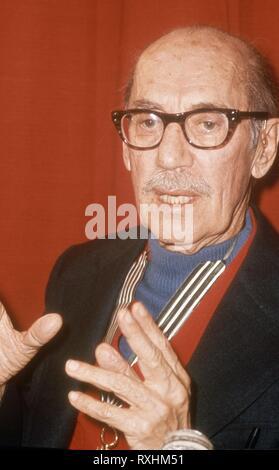 GROUCHO MARX (1890-1977) ACTOR, COMEDIANTE Y ESCRITOR ESTADOUNIDENSE - MIEMBRO DE LOS HERMANOS MARX. MARX HERMANOS. MARX GROUCHO 1890/1977 GROUCHO MARX. - Stock Photo
